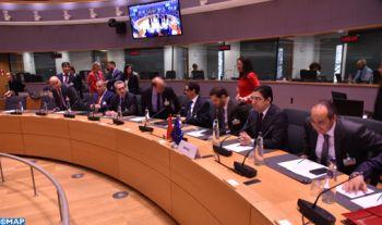 Début à Bruxelles des travaux de la 14ème session du Conseil d'association Maroc-UE