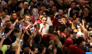 Indonésie : Le président Widodo réélu avec 55,5% des voix