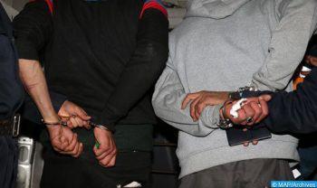 Laâyoune : Arrestation de deux individus pour leur lien présumé avec un réseau criminel s'activant dans le vol qualifié