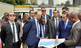 Baie de Cocody à Abidjan : M. Jazouli s'enquiert de l'avancement des travaux