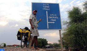 Yassine Ghallam, 25 pays africains parcourus en 27 mois, le rêve d'atteindre l'Asie et l'Amérique du sud se précise