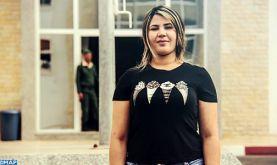 Amina El Guess, une appelée au service militaire aspirant à perfectionner son savoir-faire