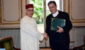 L'Archevêque de Paris exprime ses remerciements à SM le Roi pour la contribution financière décidée par le Royaume pour la reconstruction de la cathédrale Notre-Dame de Paris
