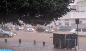 Averses orageuses localement fortes et rafales de vents, samedi et dimanche dans plusieurs provinces du Royaume