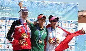 Jeux africains-2019 (Aviron/1000m): L'Algérienne Nawal Chiali remporte la médaille d'or