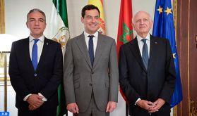 M. Azoulay reçu par le président du gouvernement andalou, le rôle de la Fondation des Trois Cultures de la Méditerranée mis en exergue