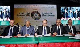 Béni Mellal : signature de trois conventions en faveur de la protection sociales des détenus