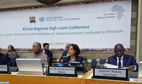 Lutte contre le terrorisme: Le Maroc résolument engagé en faveur de la promotion d'une approche de coopération globale et cohérente au niveau continental