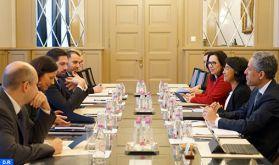 Série d'entretiens à Budapest de Mme Boucetta avec plusieurs responsables hongrois