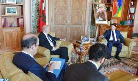 """Nasser Bourita: Le Maroc """"n'a pas encore connaissance d'un quelconque plan de paix"""" pour la résolution du conflit au Moyen-Orient"""
