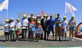 """Le label """"Pavillon bleu"""" hissé sur la plage de Bouznika pour la 13ème année consécutive"""