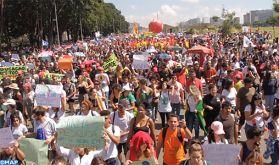 Manifestations massives au Brésil pour dénoncer des coupes budgétaires dans le secteur de l'éducation