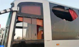 Un autocar de supporteurs wydadis cible de jets de pierres sur l'autoroute Tunis-Sousse