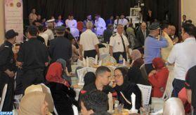 Casablanca: Iftar collectif au profit des pensionnaires du Centre de réinsertion d'Aïn Sebâa