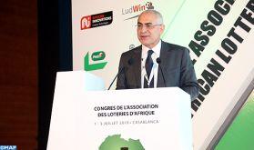 Casablanca: Ouverture des travaux du 18ème Congrès de l'Association des Loteries d'Afrique