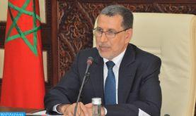 """M. El Otmani: le bilan d'étape de l'action gouvernementale est """"bon"""" et """"honorable"""""""