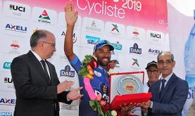 Tour international cycliste du Maroc-2019 : Mehdi Choukri finit en tête du classement des jeunes
