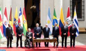 Chili : Signature de la Déclaration de Santiago portant création du Prosur