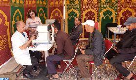 """Caravane médicale pluridisciplinaire au profit de plusieurs centaines de pêcheurs du village """"Lassarga"""" à Dakhla"""