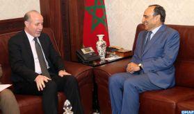 M. El Malki s'entretient avec le directeur du FNUAP