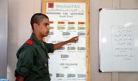 Lancement officiel de l'opération du service militaire au sein des centres de formation des FAR