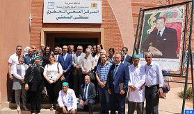 """Inauguration à Errachidia du projet """"Base of the Pyramid"""" pour l'amélioration de la prise en charge des diabétiques"""