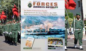 Le service militaire, une volonté Royale porteuse de nobles objectifs (Revue des FAR)