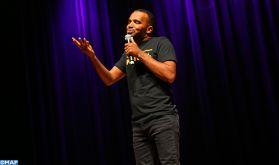 """5-ème édition du Festival """"Aji T'hdm"""": L'humoriste Bassou offre un spectacle captivant au public rebati"""