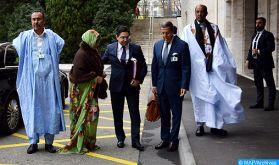Début à Genève d'une seconde table ronde à l'invitation de l'Envoyé Personnel du Secrétaire Général de l'ONU pour le Sahara marocain