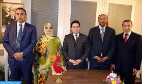 Fin de la première journée d'une seconde table ronde à l'invitation de l'Envoyé Personnel du SG de l'ONU pour le Sahara marocain