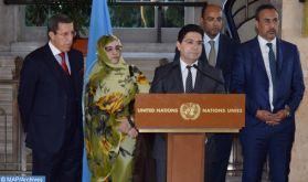 """Une délégation marocaine se rend à Genève pour participer à une 2ème """"table ronde"""" organisée par l'Envoyé Personnel du Secrétaire Général de l'ONU pour le Sahara marocain"""