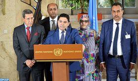 """Sahara marocain: Le Maroc souhaite """"l'adhésion des autres parties avec une réelle volonté, loin du langage du passé et des approches éculées"""""""
