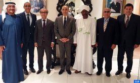 M. El Malki rencontre des représentants du corps diplomatique arabe accrédité à Dublin