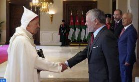 Le nouvel ambassadeur du Maroc en Jordanie remet ses lettres de créance au Roi Abdallah II