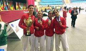 Championnats d'Afrique de Karaté (Botswana 2019) : Le Maroc champion avec 14 médailles dont 11 en or