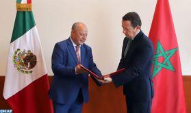 L'ambassadeur du Maroc au Mexique remet ses lettres de créance