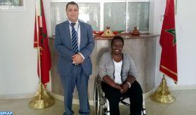 La présidente du Comité national paralympique du Kenya met en avant la haute sollicitude dont SM le Roi entoure les personnes en situation de handicap