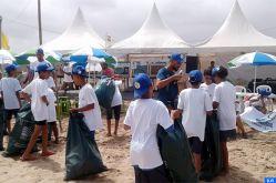"""Casablanca: 1.700 kg de déchets plastiques collectés sur les plages """"Lalla Meryem"""" et """"Nahla"""" (Lydec)"""
