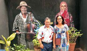 M. Qotbi rencontre à la Havane des responsables culturels et des artistes-peintres cubains