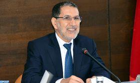 M. El Otmani préside la délégation marocaine aux travaux du 1er sommet arabo-européen en Egypte