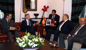 M. Laftit s'entretient à Rabat avec le ministre espagnol de l'Intérieur