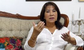 La question du Sahara marocain est une question d'intégrité territoriale (ancienne présidente du Congrès péruvien)