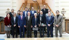 Visite de travail d'une délégation judiciaire marocaine à Madrid