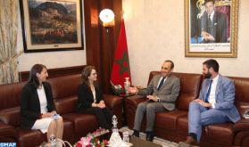 M. El Malki affirme l'adhésion de la Chambre des représentants à toutes les initiatives visant à faire de l'eau un outil pour la paix dans le monde