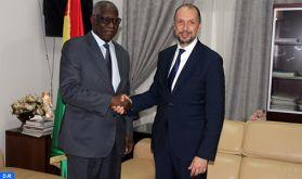 Maroc/Guinée : Le suivi des accords de coopération liant les deux pays au centre d'une séance de travail à Conakry