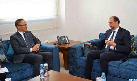 M. Jazouli s'entretient à Rabat avec le vice-ministre chinois des AE sur les moyens de renforcer la coopération bilatérale et sino-africaine