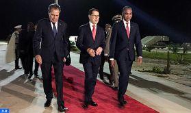 M. El Otmani, chargé par SM le Roi d'assister à la cérémonie d'investiture du nouveau Président mauritanien