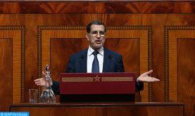 Réponse lundi du chef du gouvernement aux interventions des membres de la Chambre des représentants concernant le bilan d'étape de l'Exécutif
