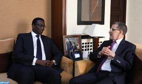 Rabat: Le Chef du gouvernement s'entretient avec le ministre sénégalais des Affaires étrangères et des Sénégalais de l'extérieur