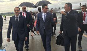 M. El Otmani au Panama pour représenter SM le Roi à la cérémonie d'investiture du nouveau président